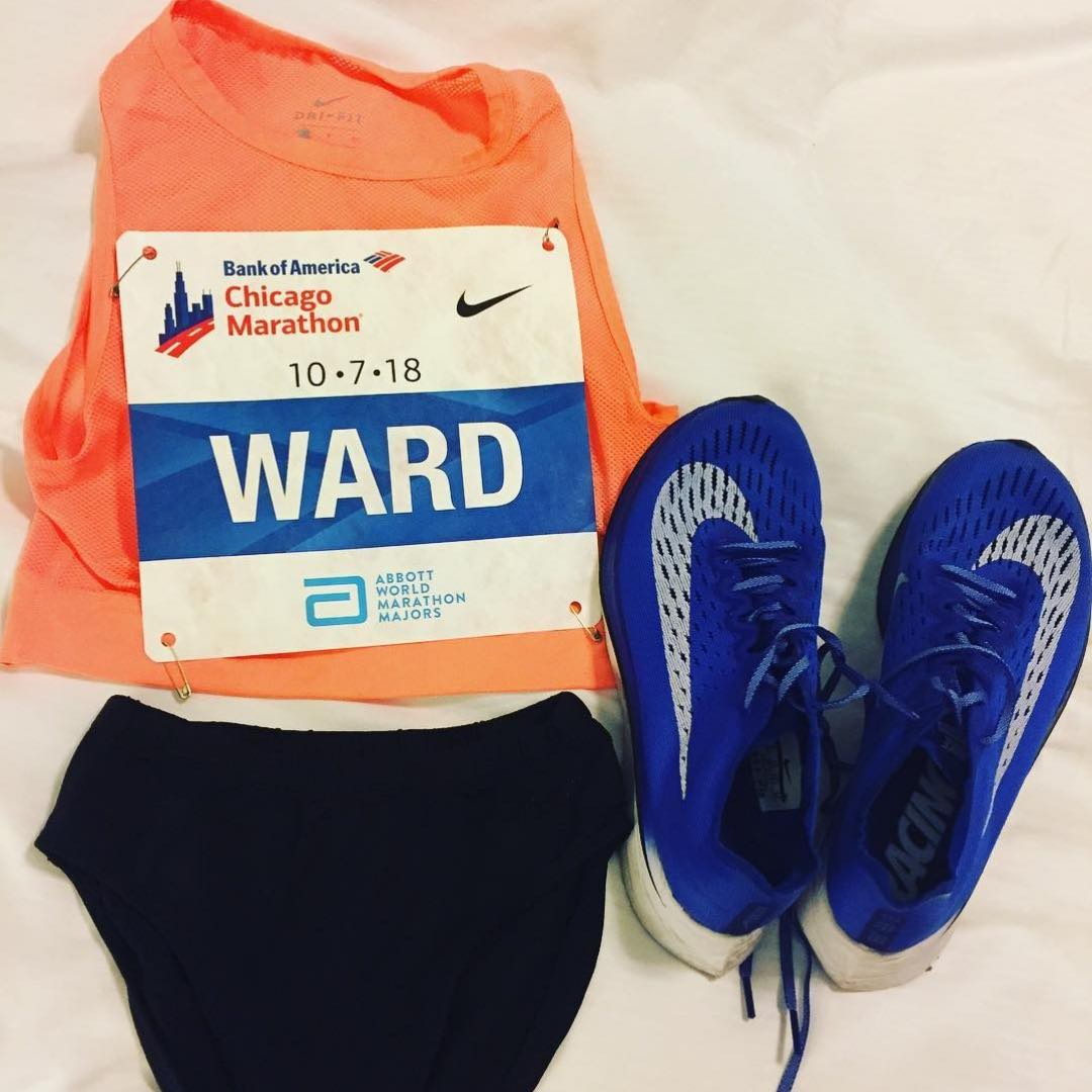 taylor-ward-chicago-marathon-uniform